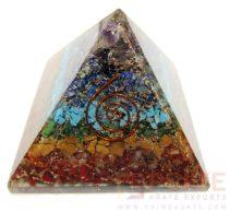 7ChakraStonesOrgoneLayerPyramid-withReikiSymbol