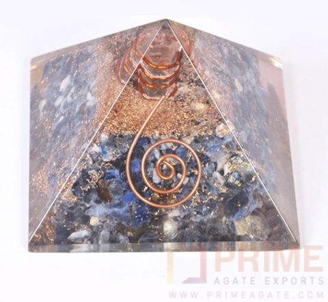 BlueAventurineOrgonePyramid-WithCrystalPoint