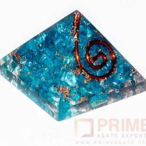 Blue(Onyx)Orgone-Pyramid