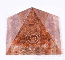 Carnelian+CrystalOrgoneEnergyPyramid-WithCrystalPoint