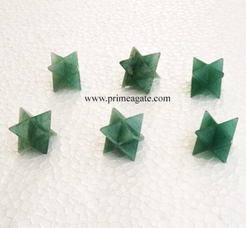 GreenAventurine-MerkabaStars