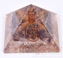 OrgoneAmethystCrystalWithCrystalPoint-Pyramid