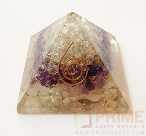 RACOrgone Pyramid-With ReikiSymbol