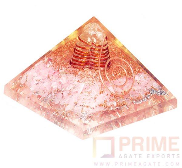 RoseQuartzOrgoneEnergyPyramid-WithCrystalPoint