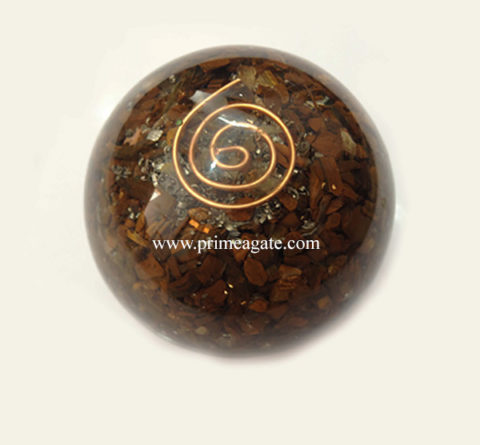 TigerEyeOrgone-Ball