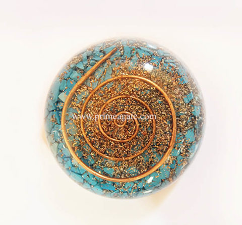 TurquoiseOrgone-DomeBowls