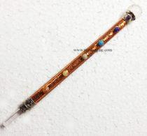 7ChakraMetalWithCrystalBall-HealingStick