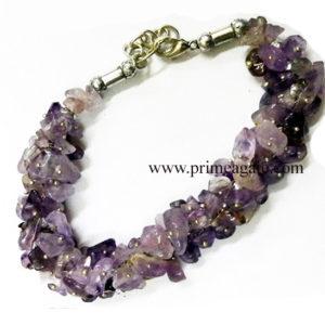 AmethystChipsFuseWire-Bracelet