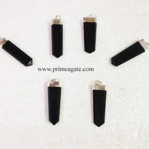 BlackTourmalineFlat-Pendants