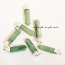 GreenAventurineCapPencil-Pendant