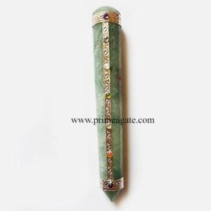 GreenAventurineChakra-Massage Wand