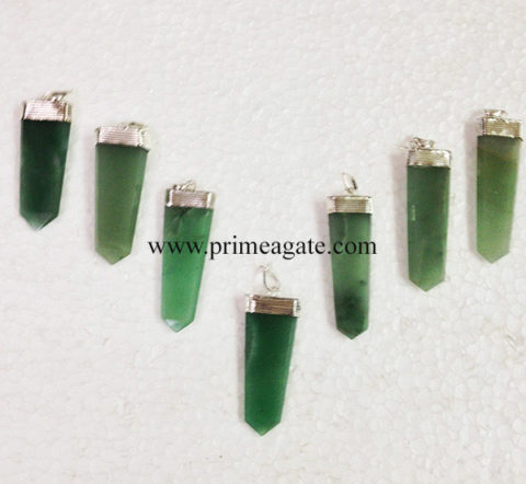 GreenAventurineFlatStick-Pendant