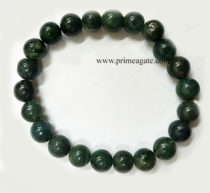 MalachiteElasticBeads-Bracelet