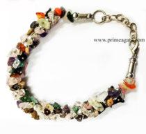 MixGemstoneChipsFuseWire-Bracelet