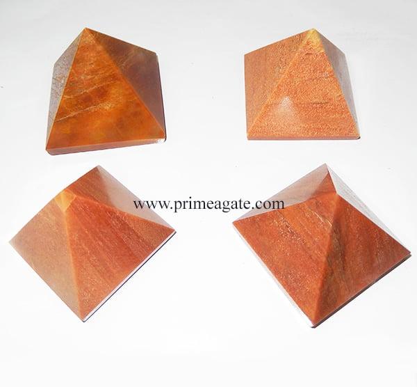 PeachAventurineBigSize-Pyramids