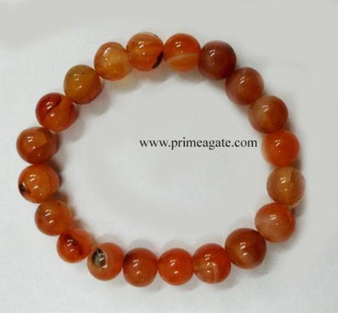 RedAventurineBeads-Bracelet