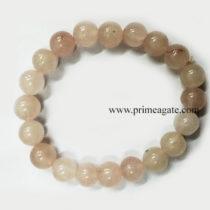 RoseQuartzBeads-Bracelet