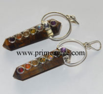 Tiger-Eye-Double-Points-Chakra-Pendants