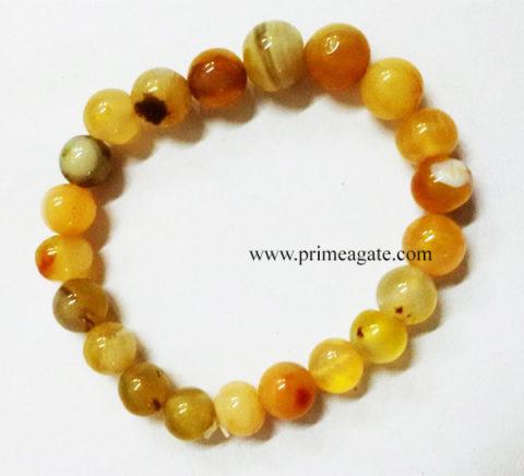 YellowAventurineBeadsElastic-Bracelets