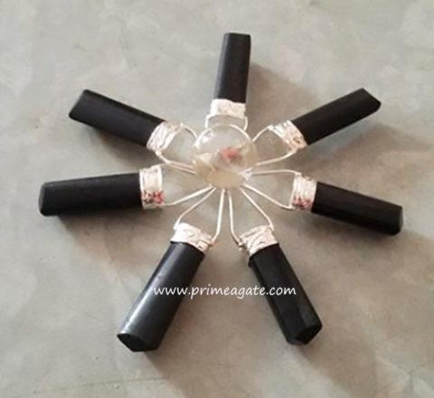 BlackTourmalineWithCrystalBall-EnergyGenerator