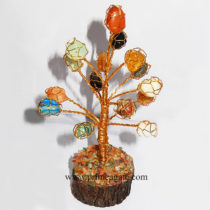MultiColorGemstoneWireWrappedTumble-Tree