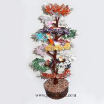 MulticolourGemstoneTree-WithSparrows