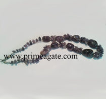 AmethystTumbleChips-Necklace