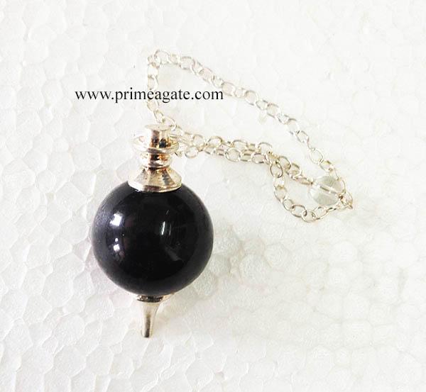 BlackTourmalineBall-Pendulum
