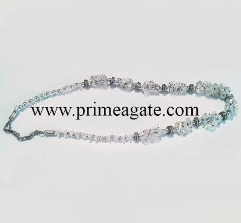CrystalQuartzChips-Necklaces