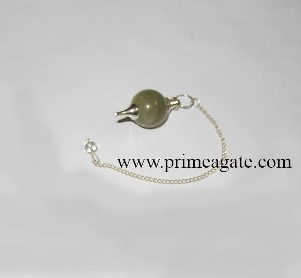 GreenAventurineBall-Pendulum