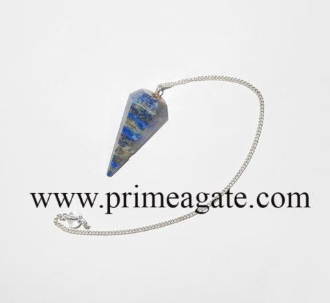 LapisLazuliFaceted-Pendulum