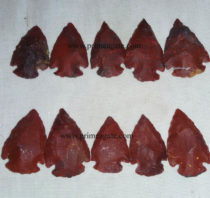 RedCarnelianGemstone-Arrowheads