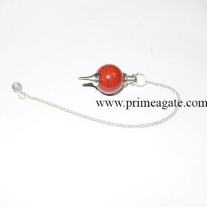 RedJasperBall-Pendulum