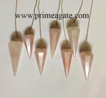 RoseQuartzFaceted-pendulums