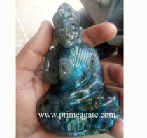 Labradorite-Buddha