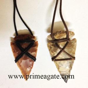 TribalArrowhead-Necklace