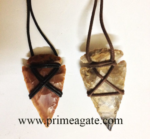 TribalArrowhead-Necklace