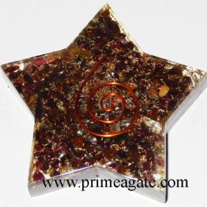 Garnet-Pentagram-Star