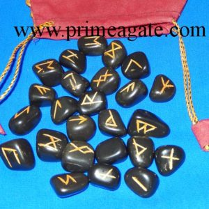Black-Agate-Tumble-Rune-Set