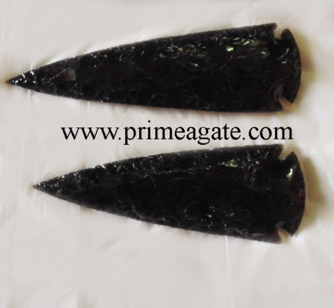 Black-Obsidian-4Inch-Arrowheads