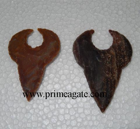 Bull-Shape-Handmade-Artifact-Arrowheads