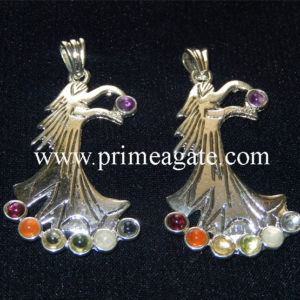 Chakra-Angel-Metal-Pendants