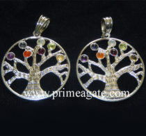 Chakra-Tree-Of-Life-Metal-Pendants