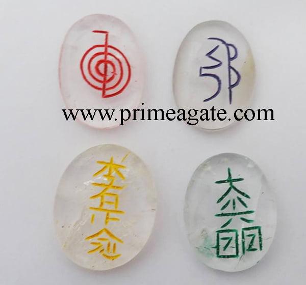 Crystal-Quartz-Colorful-Oval-Reiki-Set
