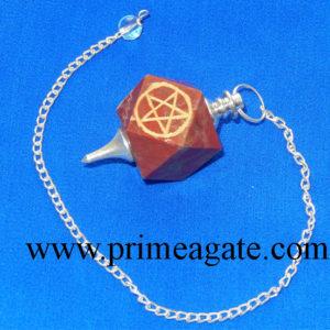 Fancy-Jasper-Pentagram-Engraved-Pendulum