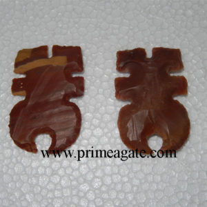 FlowerMoonshape-Agate-Handmade-Artifacts