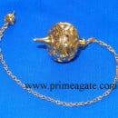 Golden-Cage-Metal-Pendulum