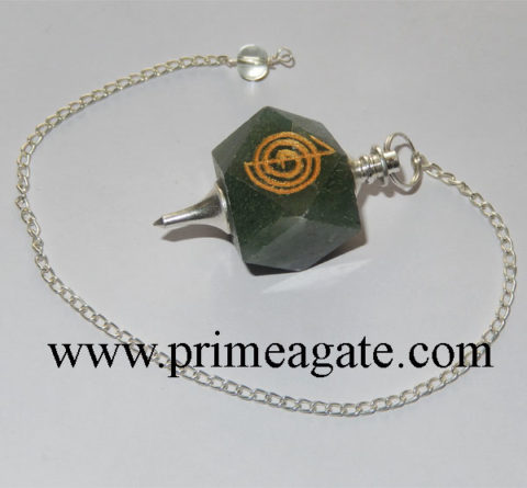 Green-Aventurine-Reiki-Engraved-Pendulum