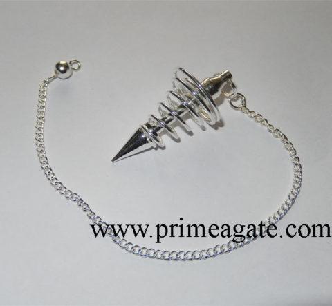 Silver-Metal-Big-Size-Coil-Pendulum