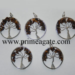 Tiger--Eye-Tree-Of-Life-Pendants